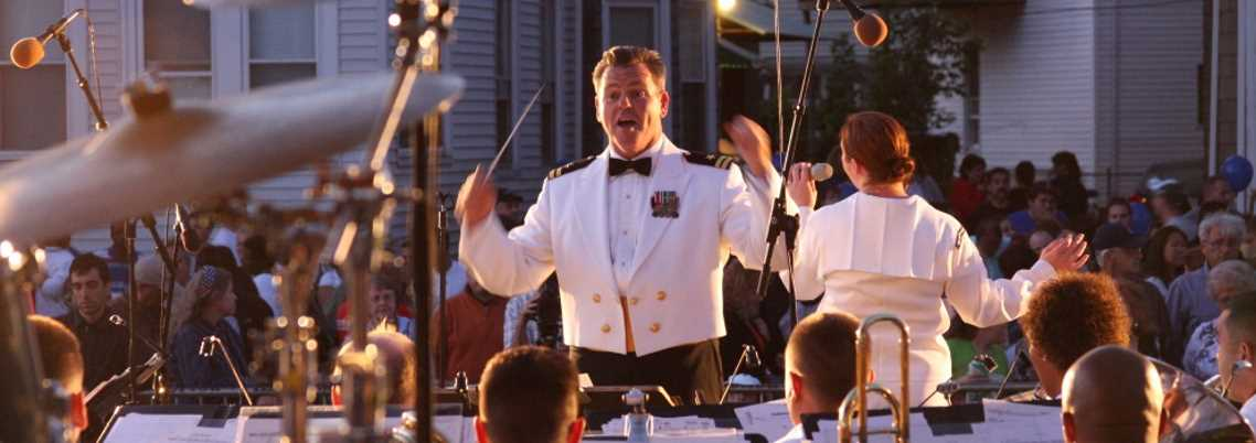 Image of Navy Band Conductor
